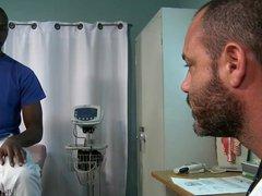 ExtraBigDicks Scary vidz Str8 Big  super Black Dick Visits His Doctor