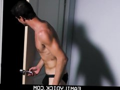 Step dad vidz and jock  super son fuck and suck each other on webcam