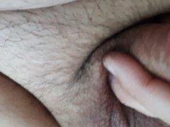 My little vidz cock wanking  super - no cum but a lot of precum