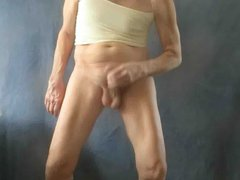 Panty sissy vidz masturbates and  super squirts