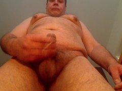 older chubby vidz gay man  super loves to show himself