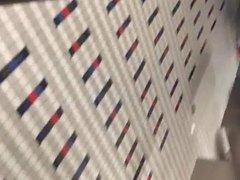 Public airport vidz mens room  super jerking