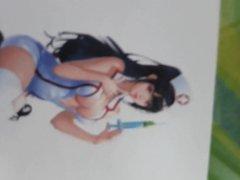 cum tribute vidz LOL Nurse  super Akali