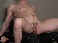 Rubber man vidz stuffs his  super meaty fat cock into this tight ass