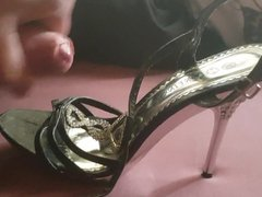 Cum in vidz my Wifes  super Heels