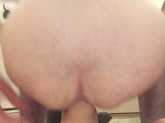 Thick dildo vidz in my  super tight ass