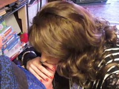 Crossdresser Laura vidz Talented Tongue