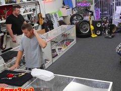Straight pawnshop vidz amateur plowed  super in the store