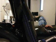 Bound latex vidz gimp gets  super an interesting surprise