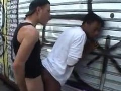 200 - vidz Sex -Young  super guys on the wall - 03