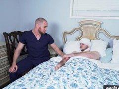 Men.com - vidz Brendan Phillips  super and Noah Jones - Soap Studs Part 3 - Drill My Ho