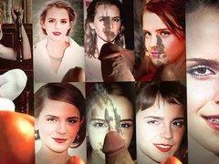 Emma Watson vidz - wall  super of my cum tributes x8