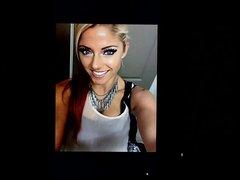 Alexa Bliss vidz cum tribute  super 8