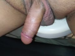 Me playing vidz with my  super little penis