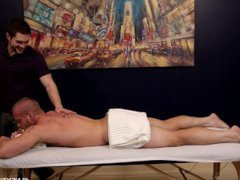 NextDoorStudios Cute vidz Muscle Man  super Fucks Masseur On Massage Table