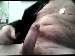 ITALIAN DADDY vidz JACKS OFF  super HIS BIG THICK UNCUT