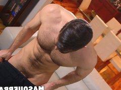 Handsome muscular vidz stud jerking  super off his big thick cock