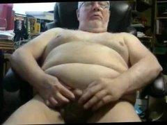 grandpa stroke vidz on webcam