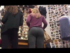 Candid Blonde vidz teen slut  super with Perfect butt