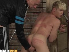 Submissive blond vidz penetrated roughly  super by long hard cock