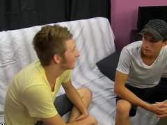 Cute twink vidz seduces straight  super married dude into hot gay sex