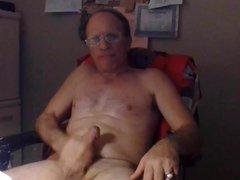 Masturbating My vidz Big Thick  super Cock & Big Balls Bouncing.