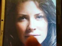 Evangeline Lilly vidz cum tribute  super 8