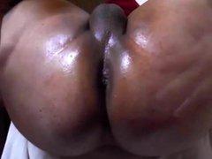 Oiled Sissy vidz Butt