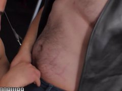 Rimmed wolf vidz banged and  super covered with jizz