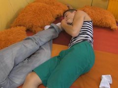 Gay Couples vidz Furby Sucking  super Tobi Feet