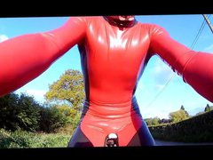 latex cycling vidz skinsuit 3  super 18