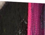 Denim, fishnets vidz and silk