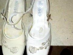 Cum in vidz little white  super shoe