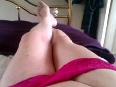 sperm and vidz red knickers