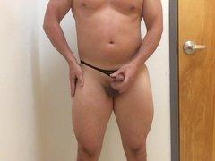 Posing in vidz thong 2