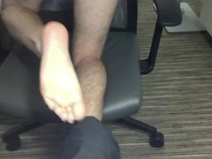 Crossdresser Cum vidz on Feet