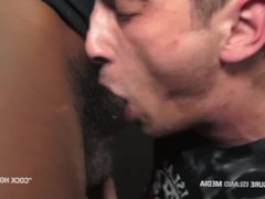 Hungry cock vidz suckers work  super on black meat