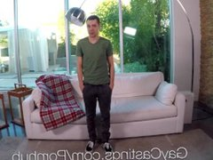 GayCastings Newcomer vidz Jude Michaels  super fucked by casting agent