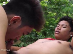 Asian Twinks vidz Nathan and  super Idol Bareback