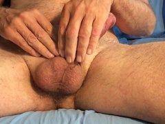 Closeup horny vidz masturbation of  super my hard cock 2