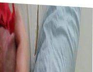 Jacking off vidz in wifes  super red panties