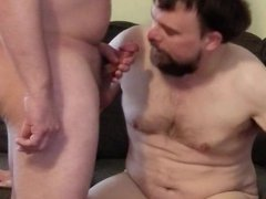 Amateur Gay- vidz Dave and  super Leland Meet Again (Part 2) Cum swallow