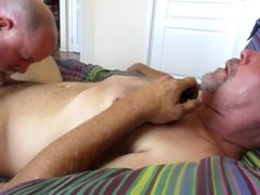 Blue Collar vidz Bud Gets  super Sucked, Edged And Feeds Me His Seed.