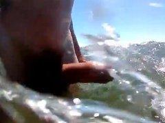 Nude Boner vidz Swim