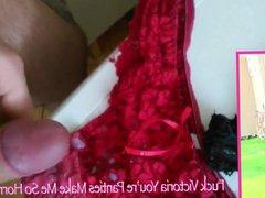 Blowing My vidz Load On  super Victoria's Clean Panties