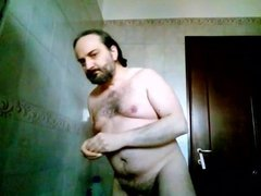 Kocalos - vidz Pissing in  super the shower