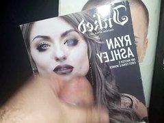 Cum Tribute vidz to Ryan  super Ashley Malarkey #2 (Cum on Magazine)