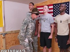 Inked military vidz hunk training  super his cock on majors ass