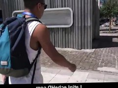 Spanish Latino vidz Jock Sex  super With Stranger Making Film POV