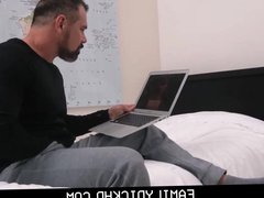 Jock Step vidz Son Sets  super Up His Bear Step Dad And Gets Fucked